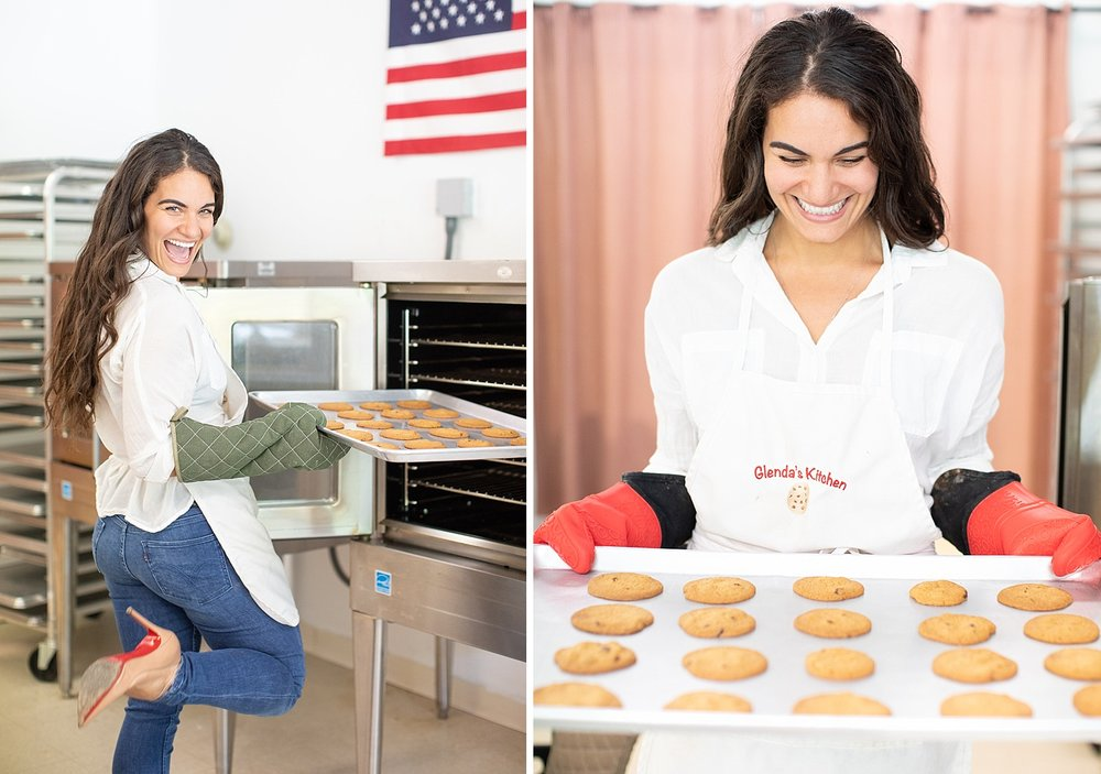 New Jersey photographer Ashley Mac Photographs captures business portraits for Glenda's Kitchen