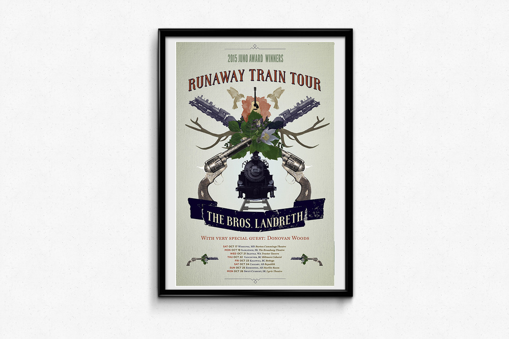 The Bros. Landreth – Runaway Train Tour