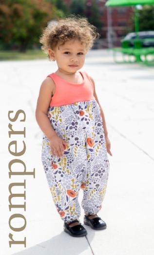 Organic Cotton Rompers Handmade Baby Clothing Girls and Boys Boy Girl