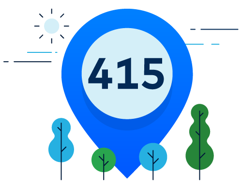 Want A Local Area Code For Your Business We Have Them Dialpad Blog - 415 area code