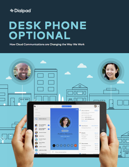 Desk Phone Optional Dialpad