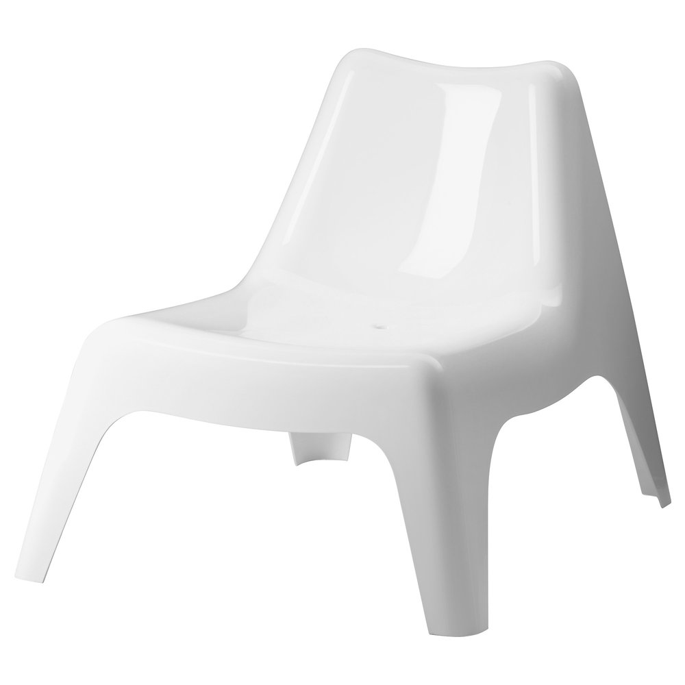 LOW WHITE CHAIR | QTY 20 | $25