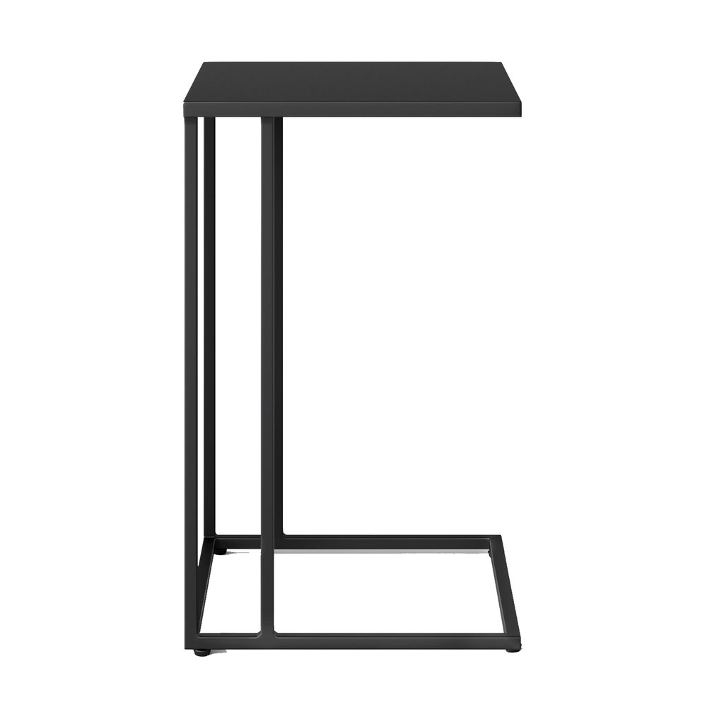 BLACK METAL STEEL FRAME C-TABLE | QTY 4 | $30