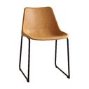 VINTAGE CAMEL DINING CHAIR | QTY: 4