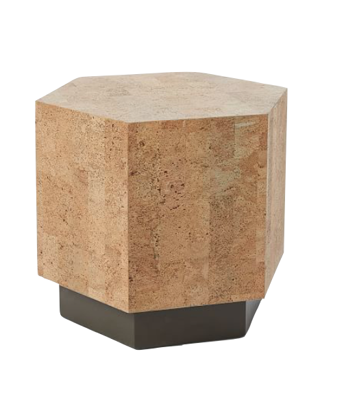 CORK END TABLE