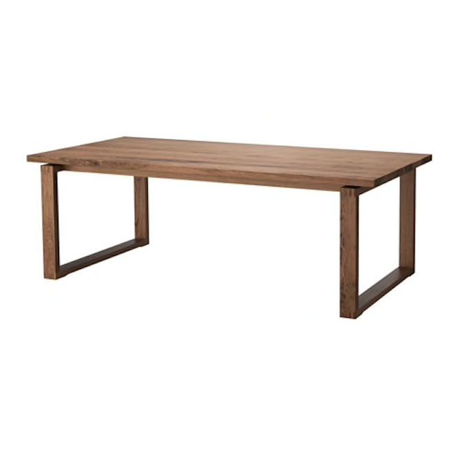 WALNUT DINING TABLE | QTY: 1