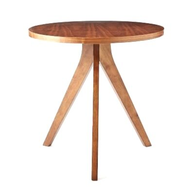 WOOD TRIPOD END TABLE | QTY 2 | $75
