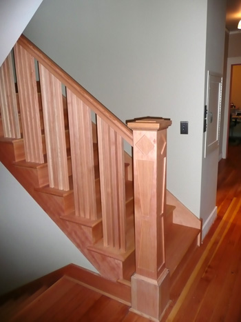 Arts and Crafts Stairs