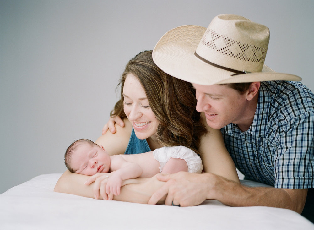 Marshall Family - Newborn Studio Portraits