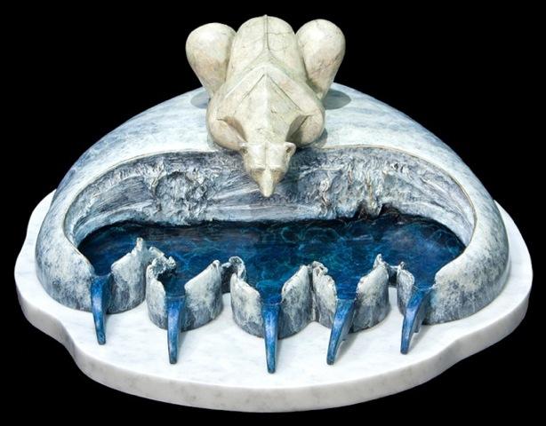 "Polar Ice Cap: Legacy (7"" H x 14.5"" W x 16"" D)"
