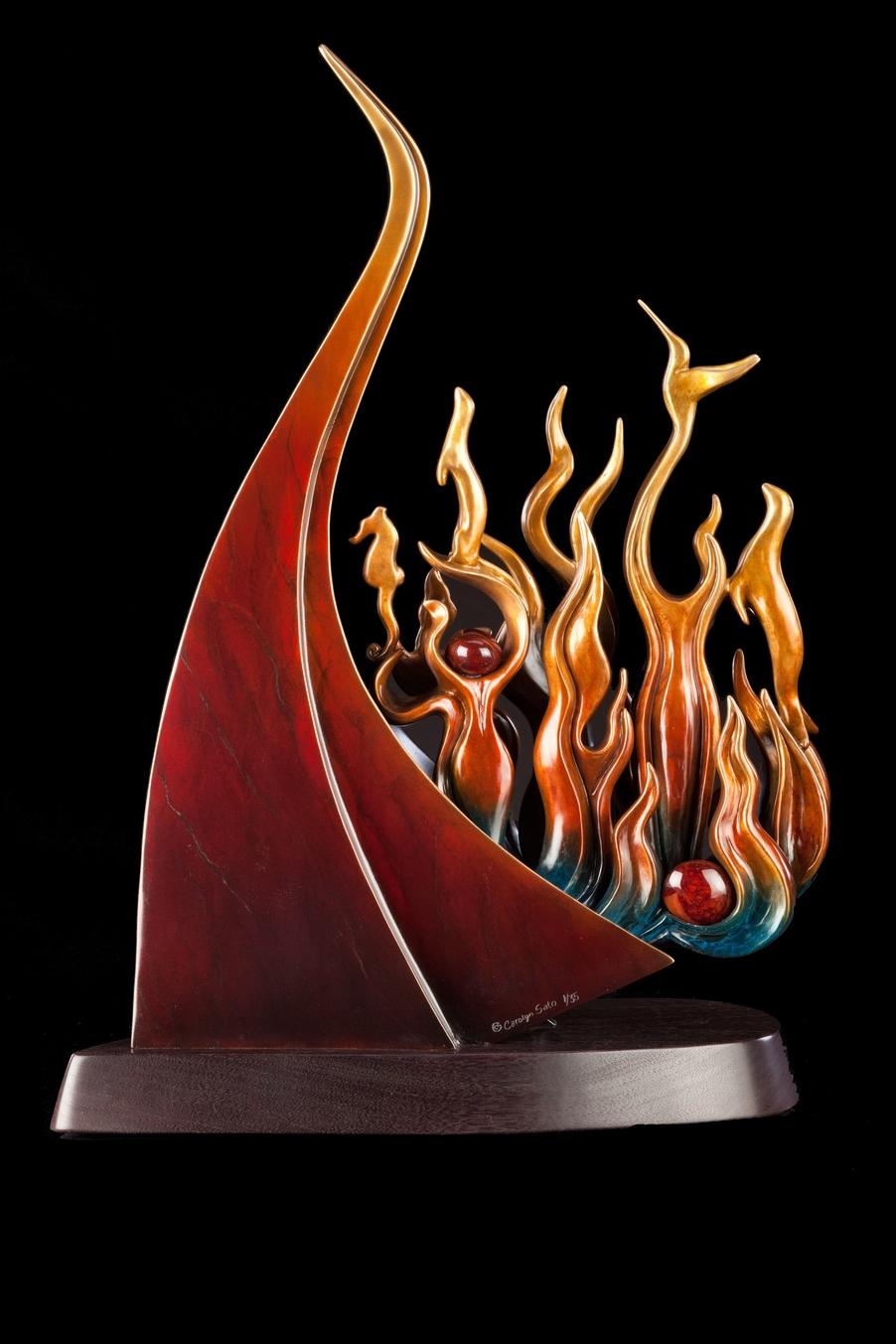 """Firebird Rises (25"""" H)"""