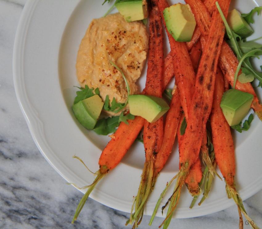 garam masala carrots