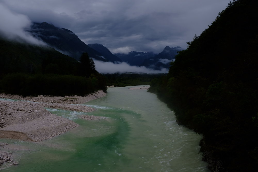 Mystic and Moody Triglav National Park .