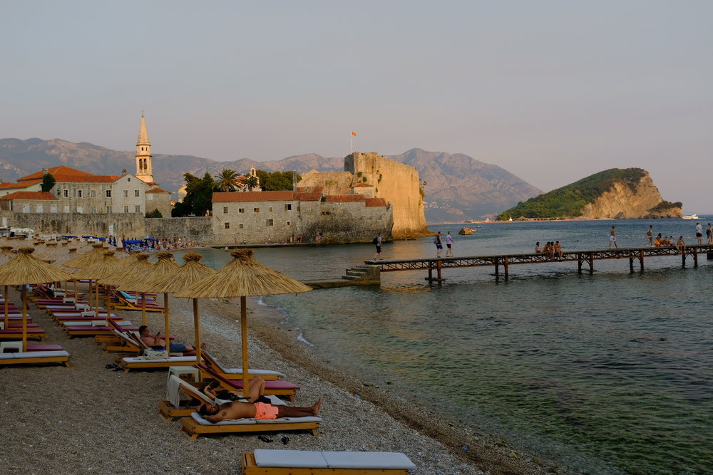 Private Beach, Budva