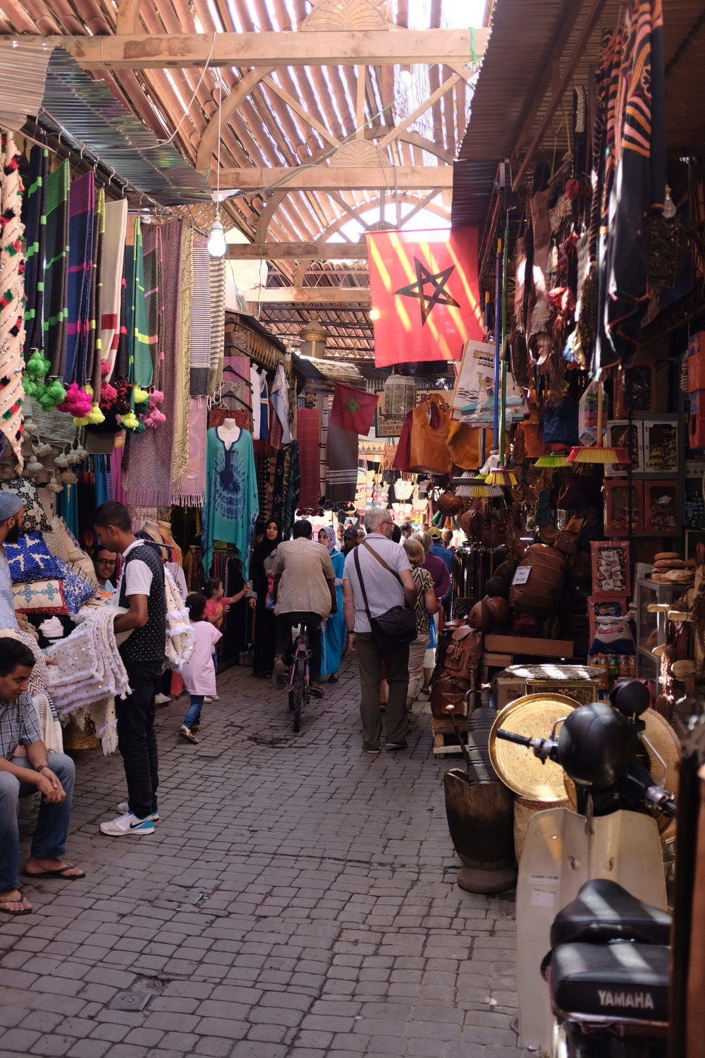 Marketplace in Fes