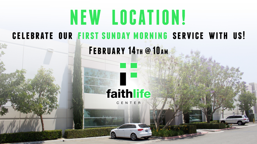 FLC Eastvale FIRST SERVICE! Come join us as we celebrate our first Sunday morning in our new facility! Click here for location information
