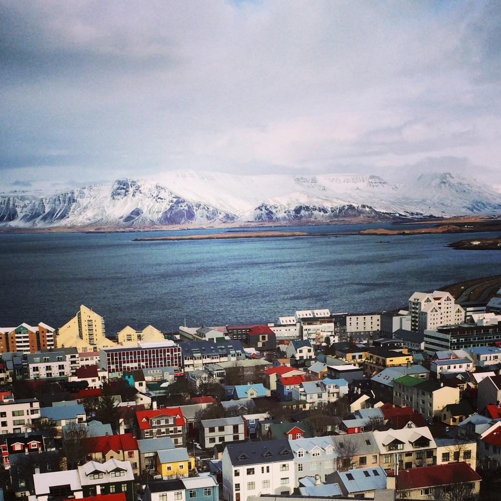 Dreamy reykjavik