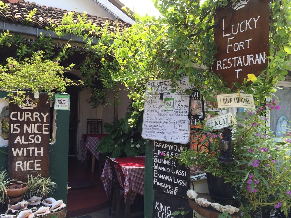 Restaurant in Galle, Sri Lanka