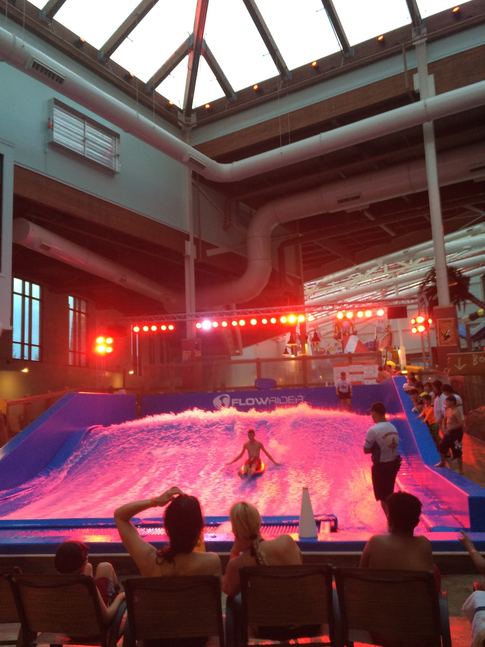 Flowrider surf expereince at camelback