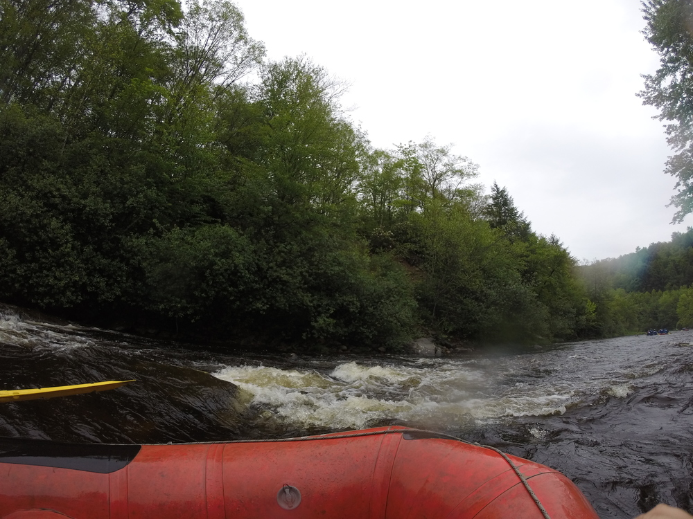 navigating a rapid