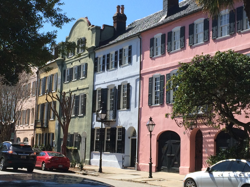 walking around charleston