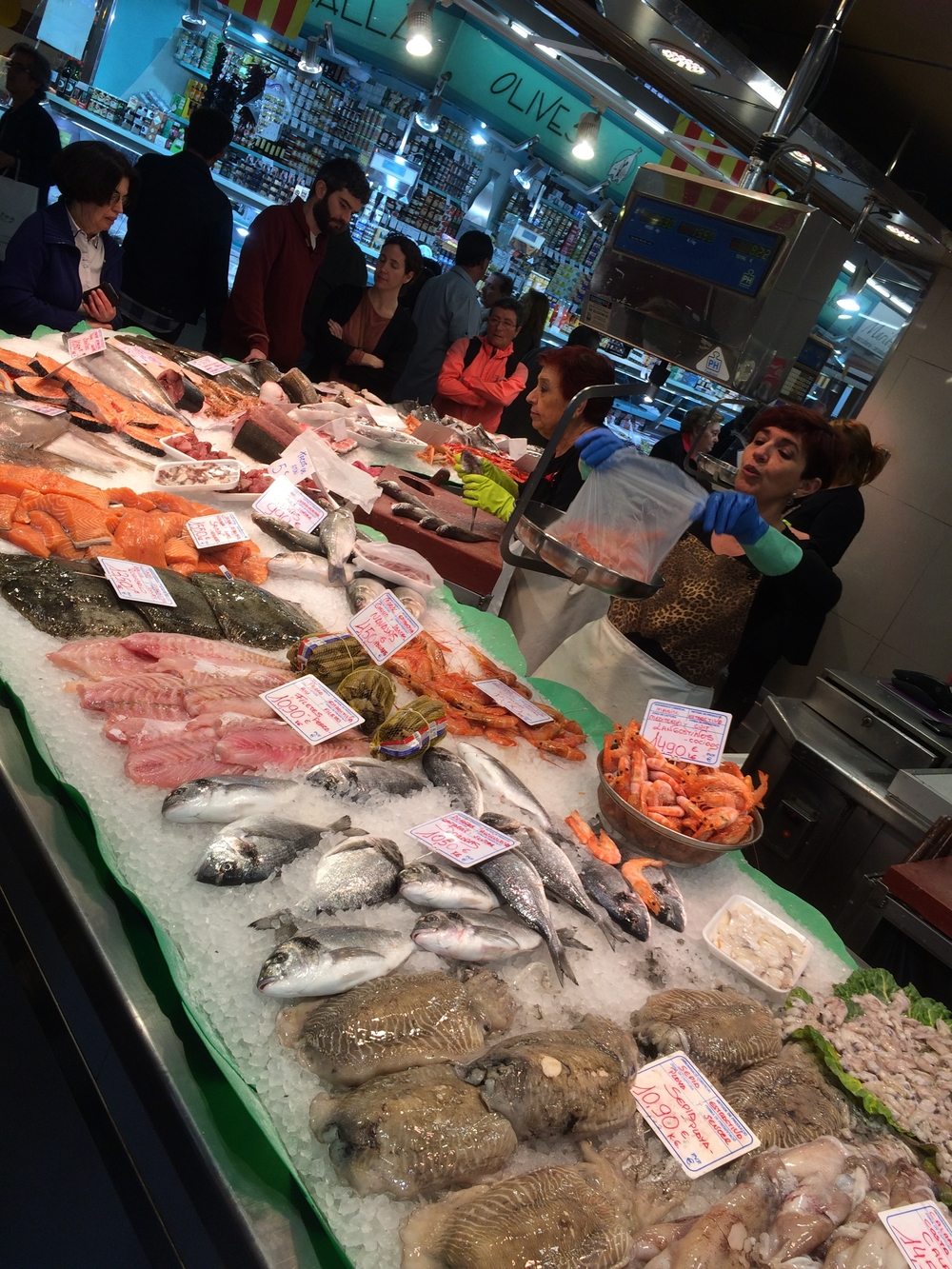 Mercat Santa Caterina - fresh seafood