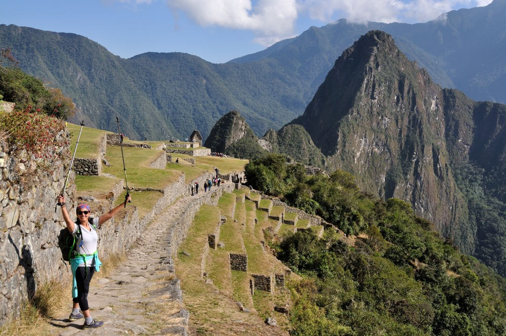 Entry into MAchu Picchu