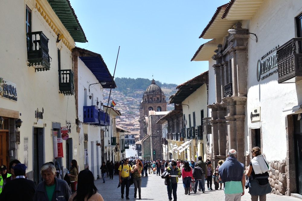 Walking around Cusco