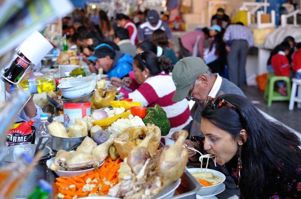Image result for san pedro market food stalls