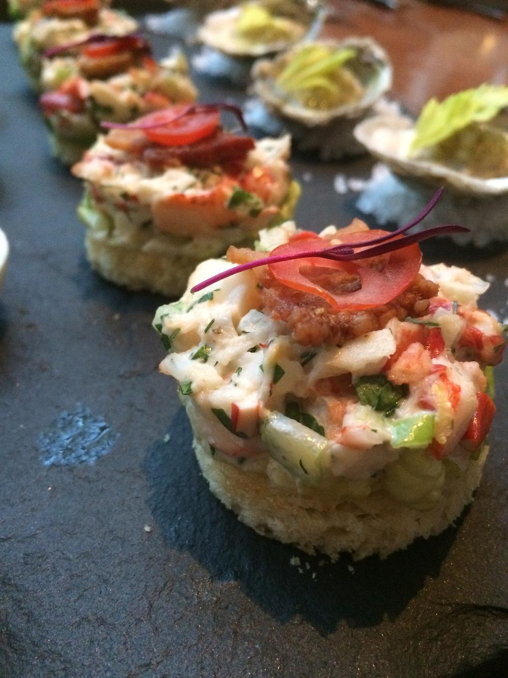 Mini lobster brioche