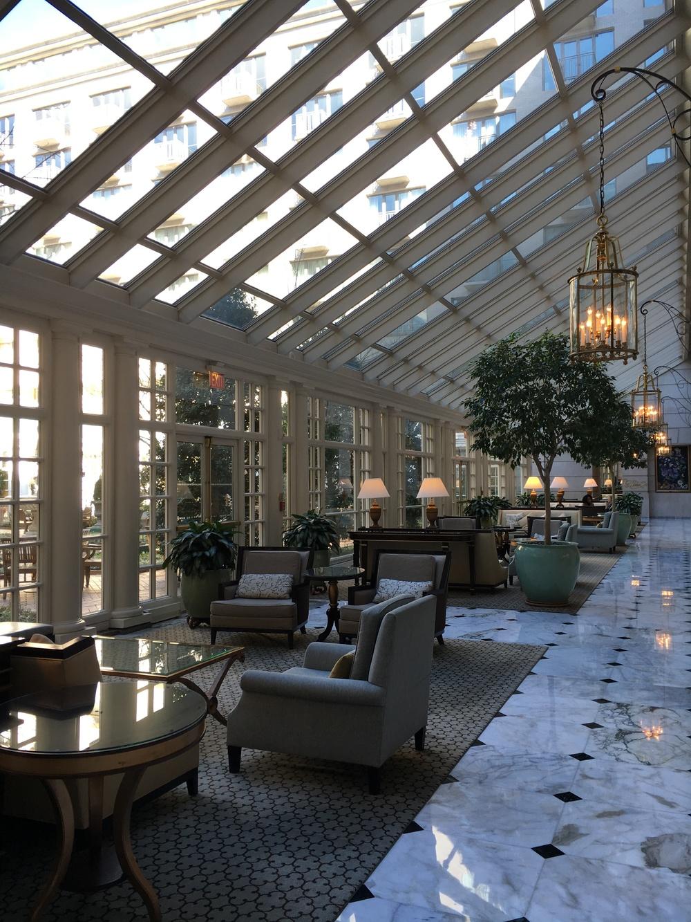 love the lobby!