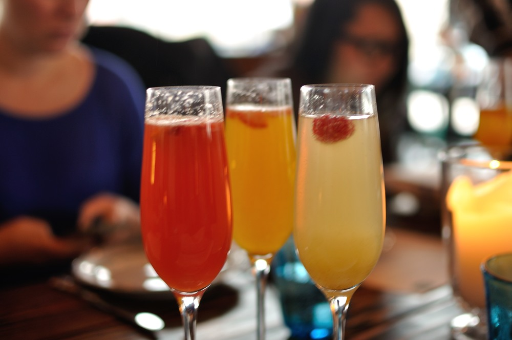 What's brunch without mimosas?