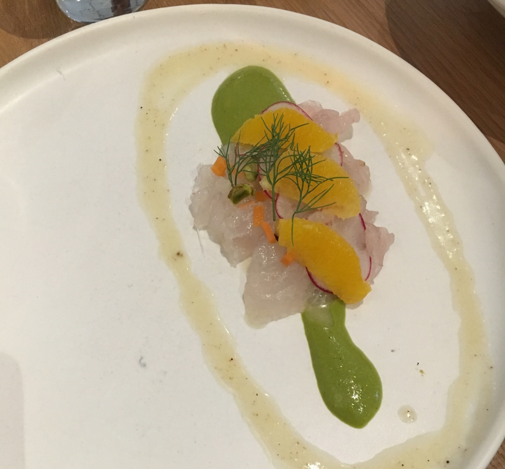 Raw Fluke at Kyirisan