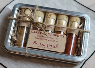 Gift set - Photo courtesy Bazaar Spices
