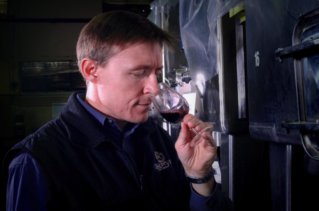 Winemaker Brett Jackson