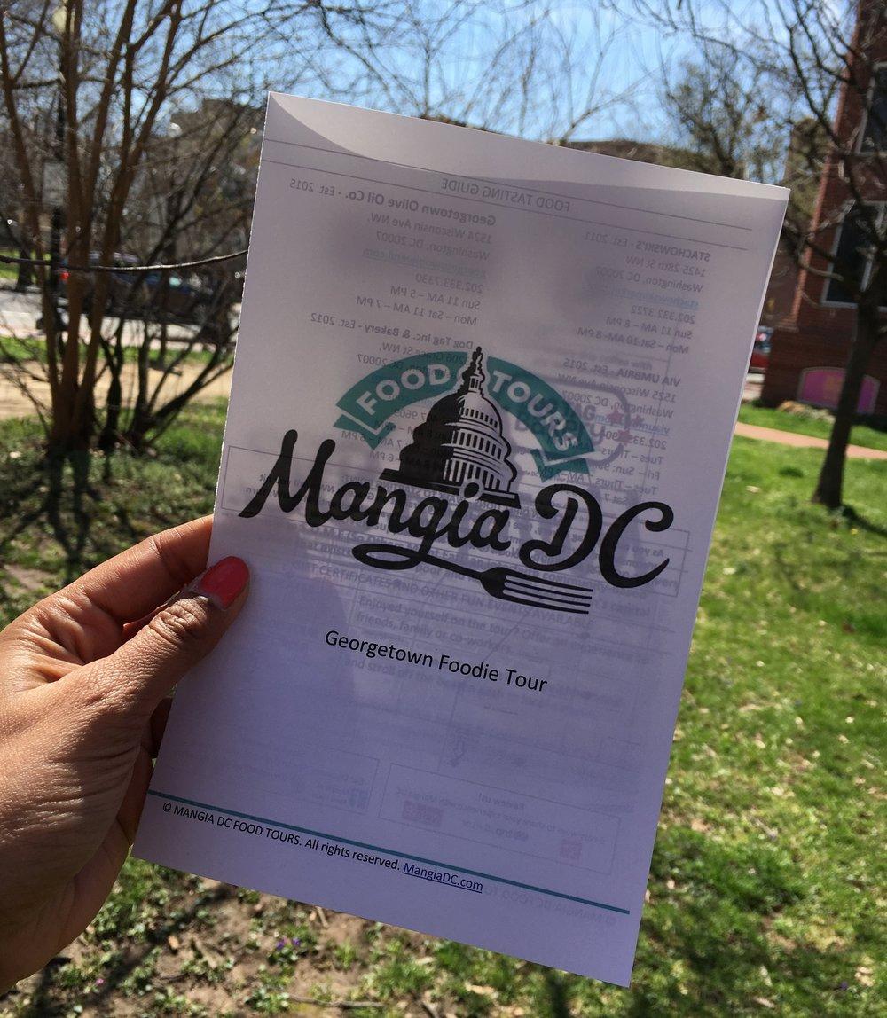 Mangia DC Food Tour