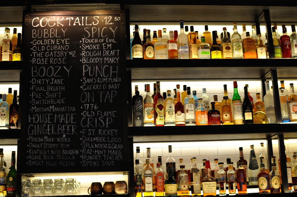 Bar at The Smith, Penn Quarter