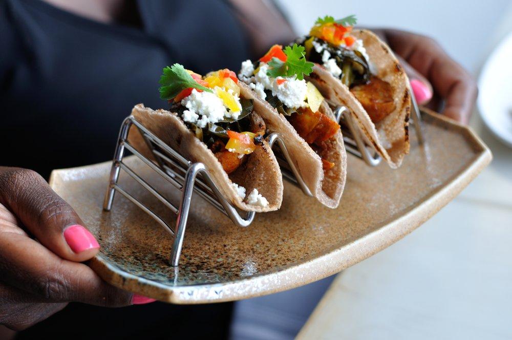 Injera tacos