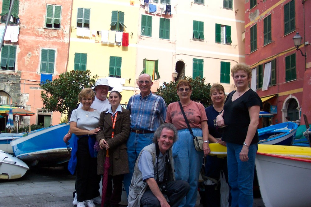 Group picture in Portofino
