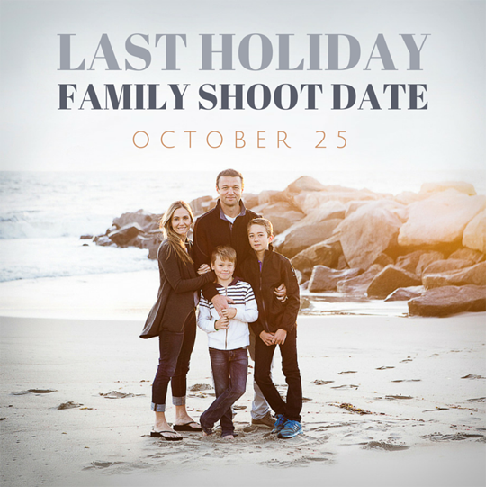 los angeles family portraits