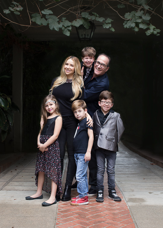 los angeles family photos