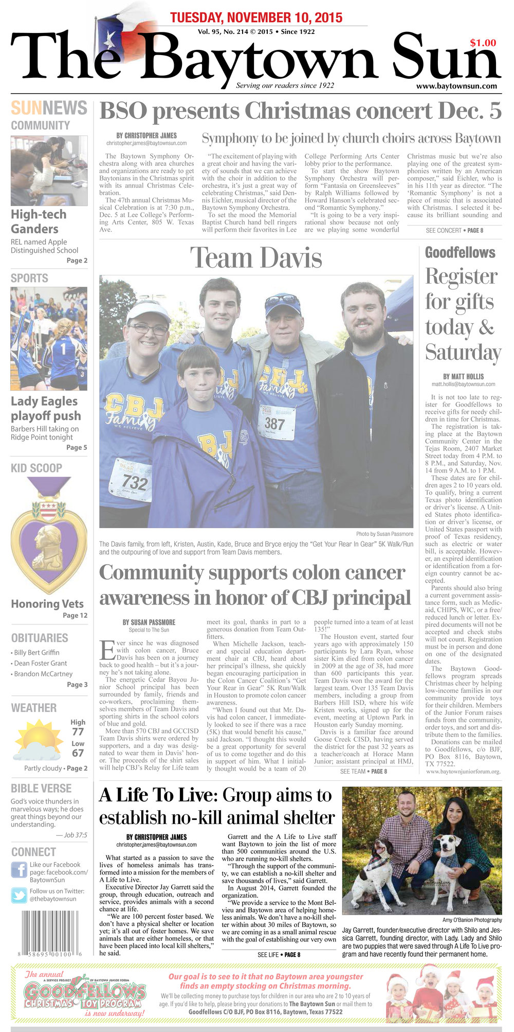 11.10.15 - Baytown Sun - A Life to Live Overview - Page 1.jpg