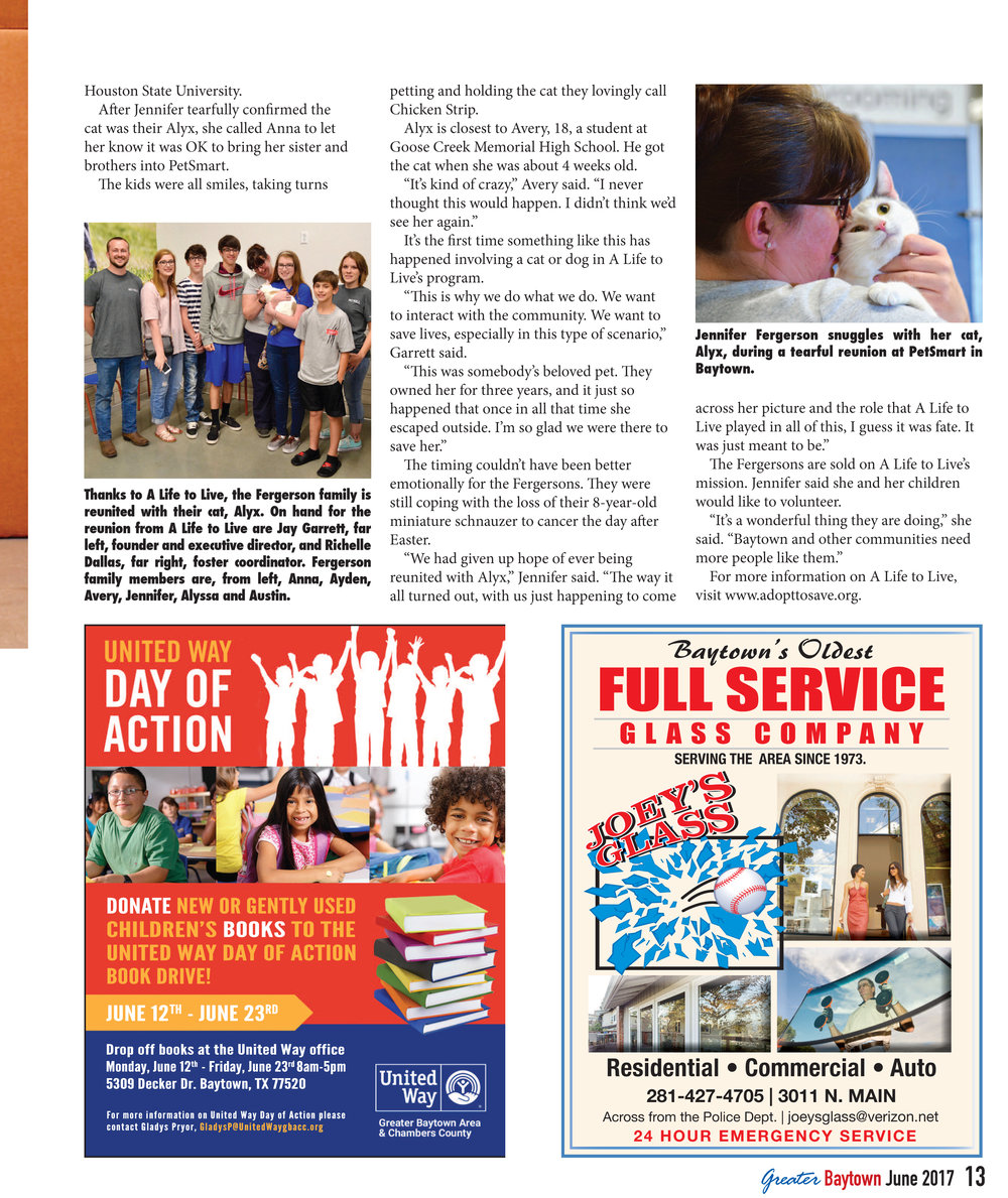 06.09.17 - Greater Baytown Magazine - Cat Reunion - Page 2.jpg