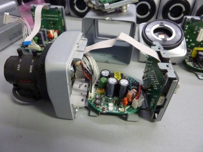 Repairing fixed camera at QSS