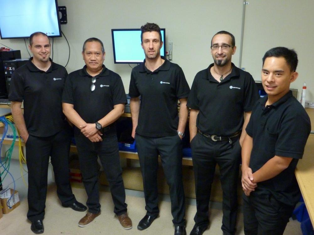 The QSS ProfessionalServices Team