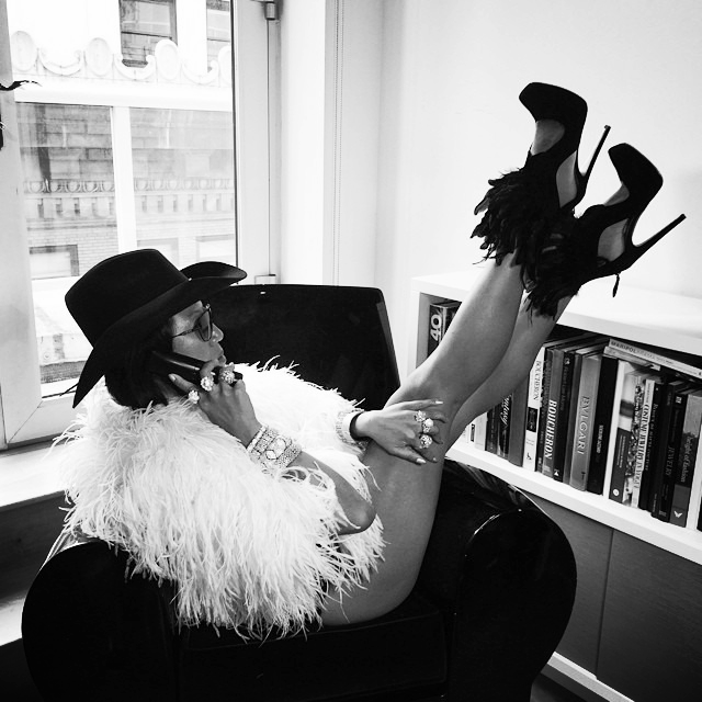 Lynn Ban running her Empire - Bad Girl Style.