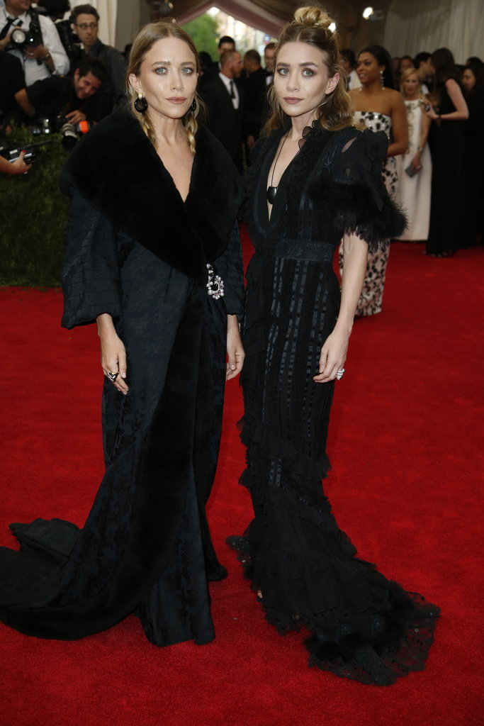 MARY KATE & ASHLEY OLSEN in vintage John Galliano