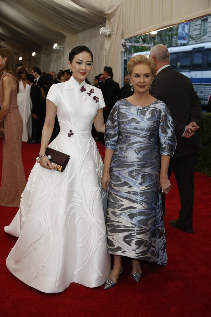 ZANG ZIYI in Carolina Herrera