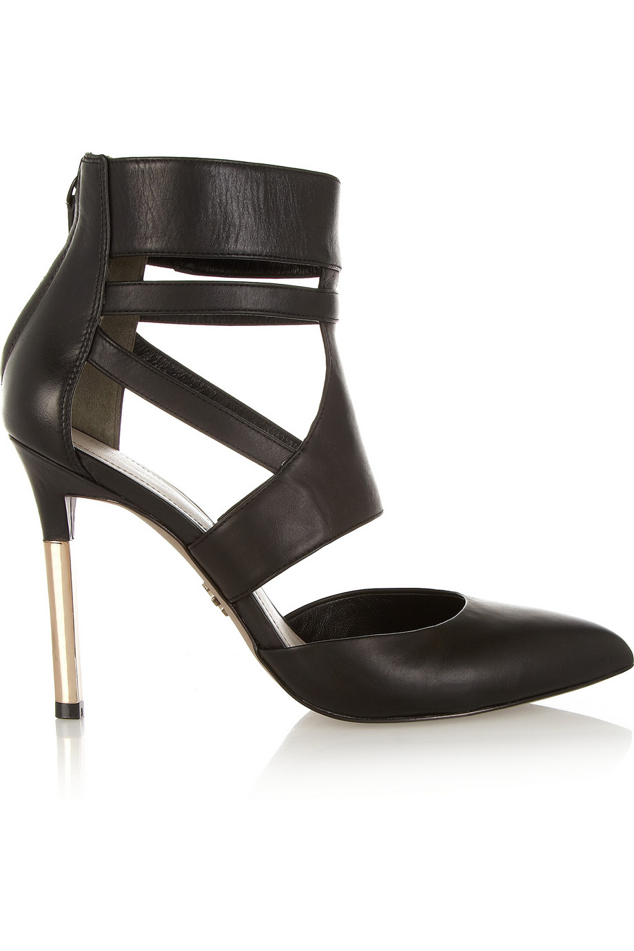 Pour La Victorie Zanie Leather Pumps $137.50