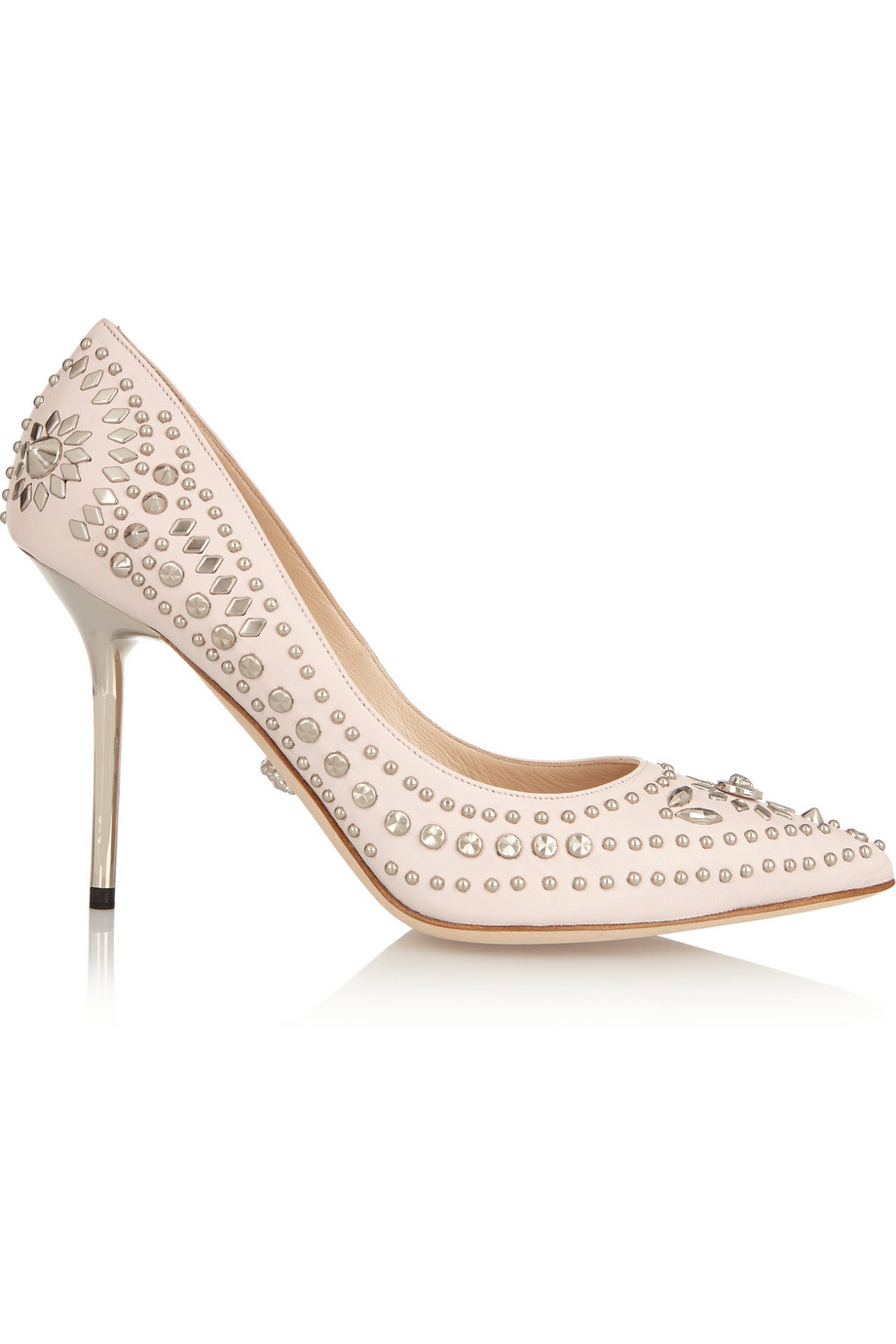 Versace Studded Leather Pumps $780